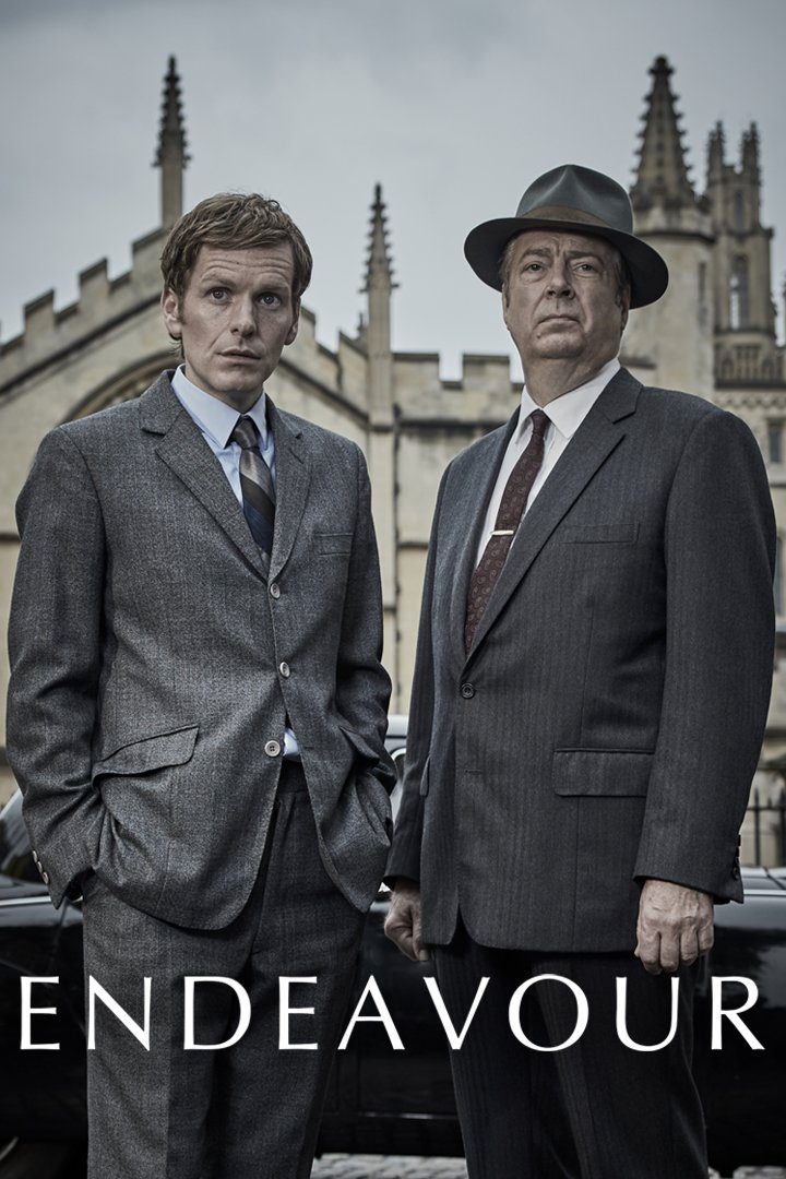 Endeavour on BritBox UK