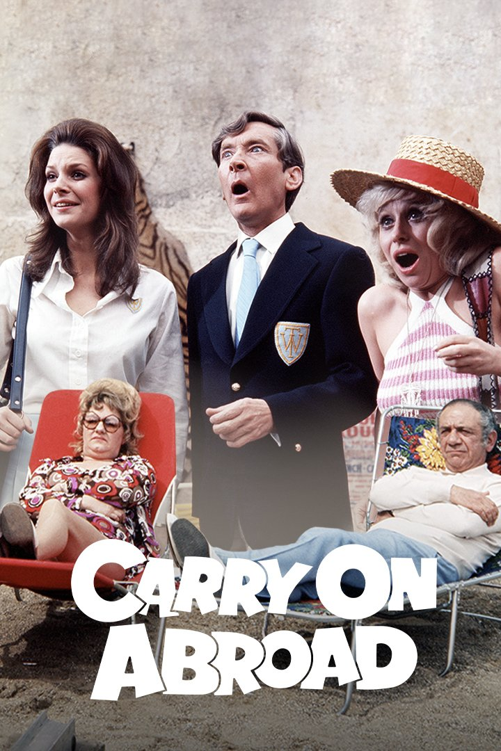 Carry On Abroad on BritBox UK