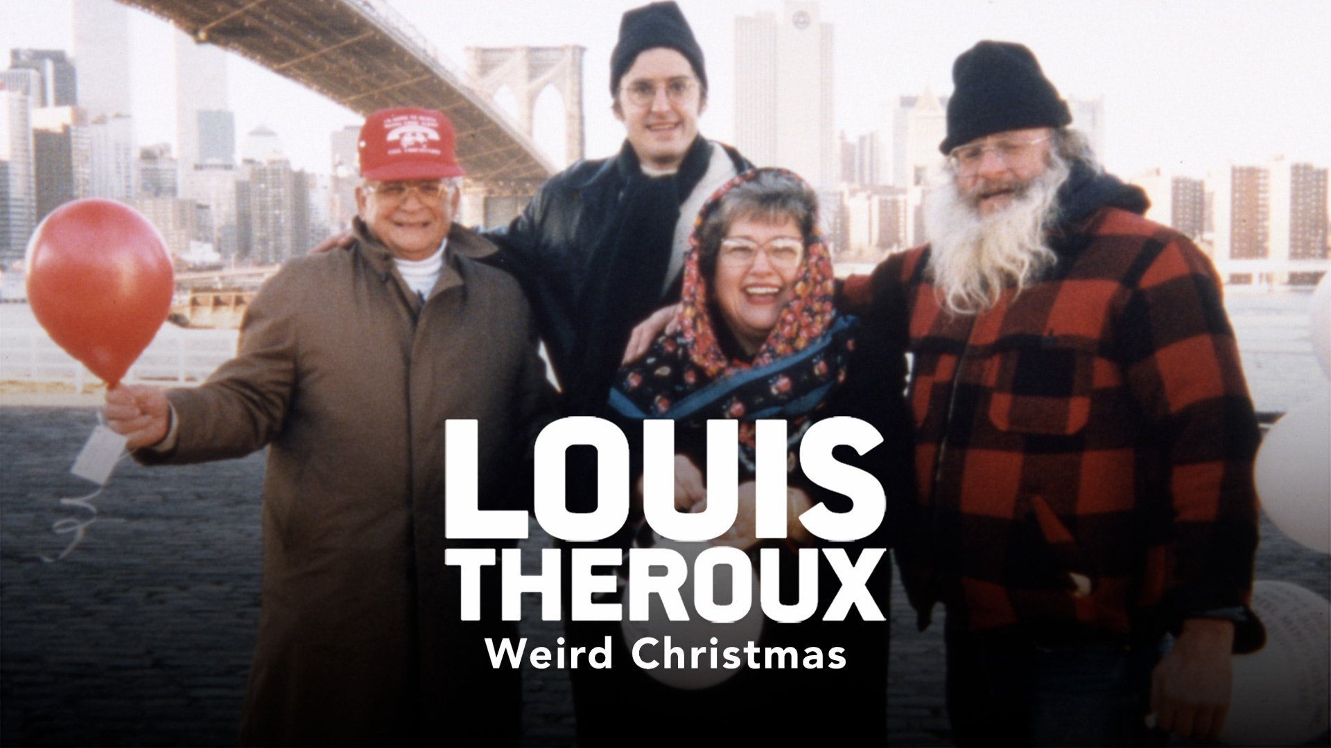 Louis Theroux's Weird Christmas on BritBox UK