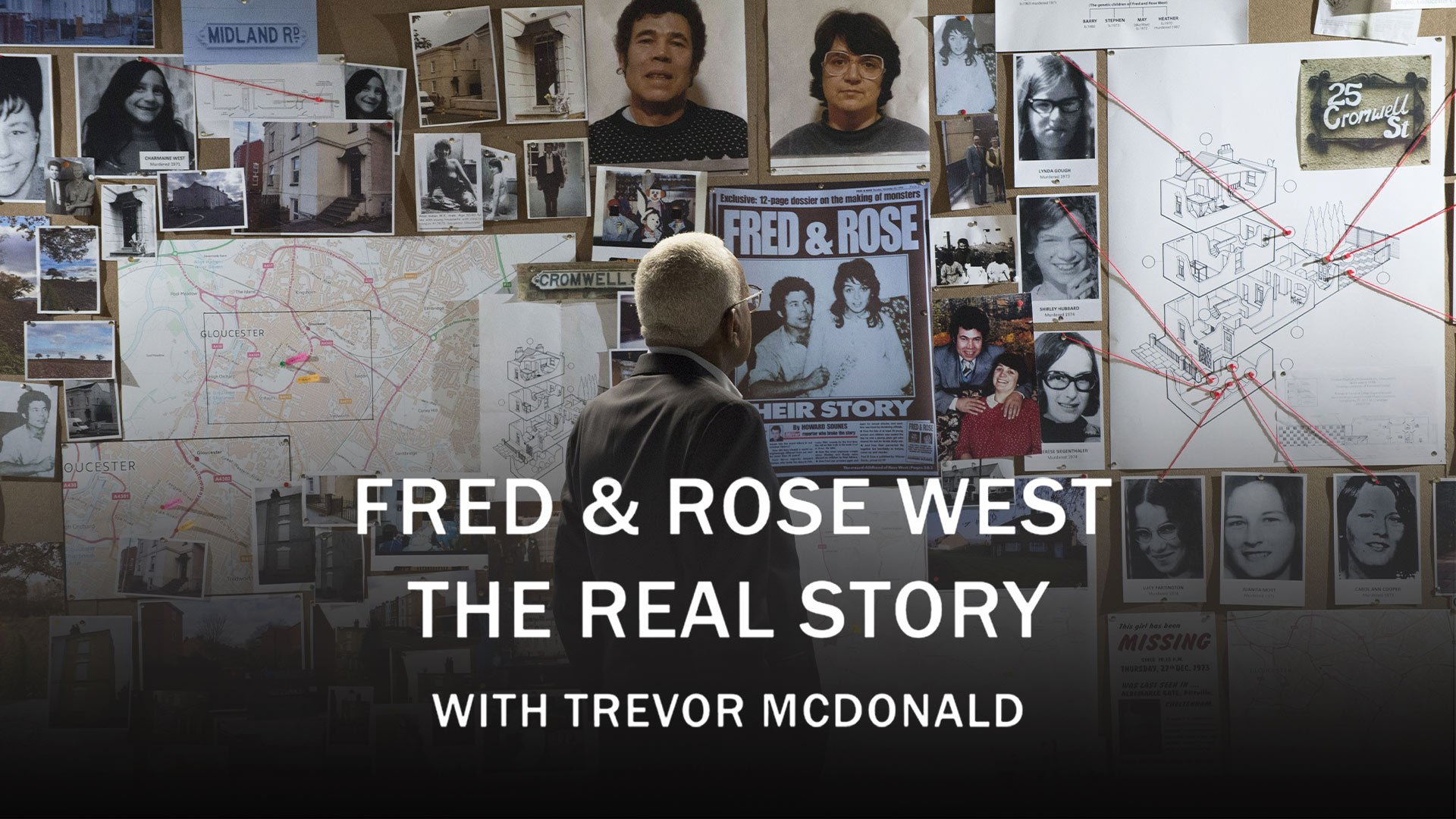 Fred & Rose West The Real Story with Trevor McDonald on BritBox UK