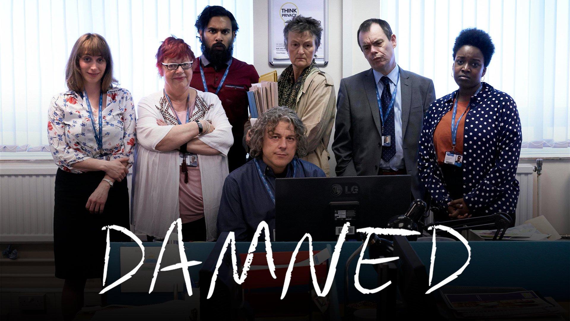 Damned on BritBox UK