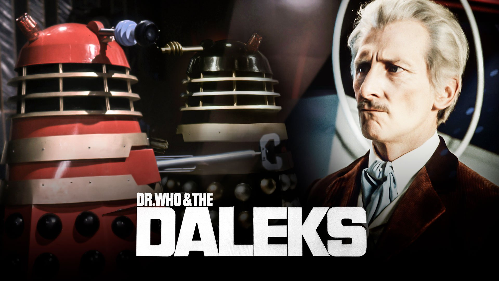 Doctor Who and the Daleks Film on BritBox UK