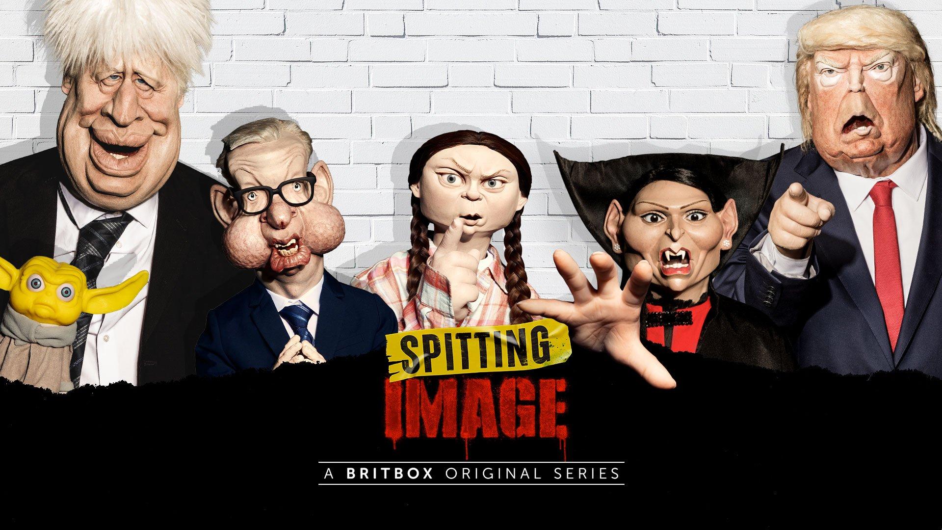 New Spitting Image on BritBox UK