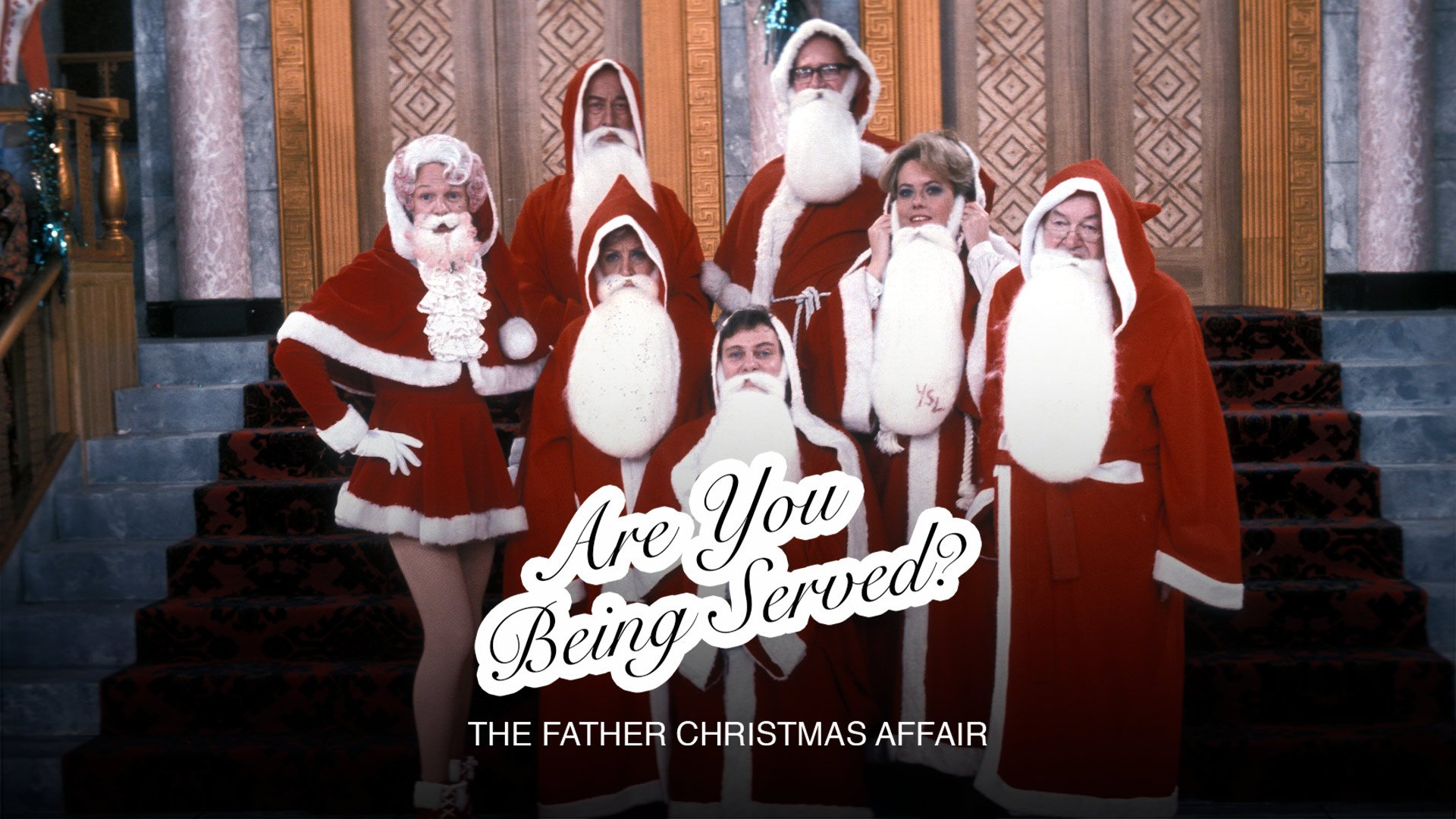 Are You Being Served? Christmas Special 1976: The Father Christmas Affair on BritBox UK