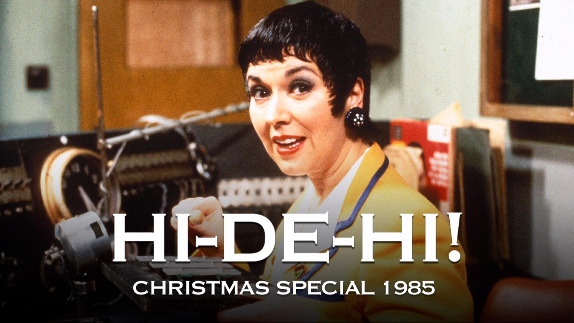 Hi De Hi! Christmas Special 1985: The Great Cat Robbery on BritBox UK