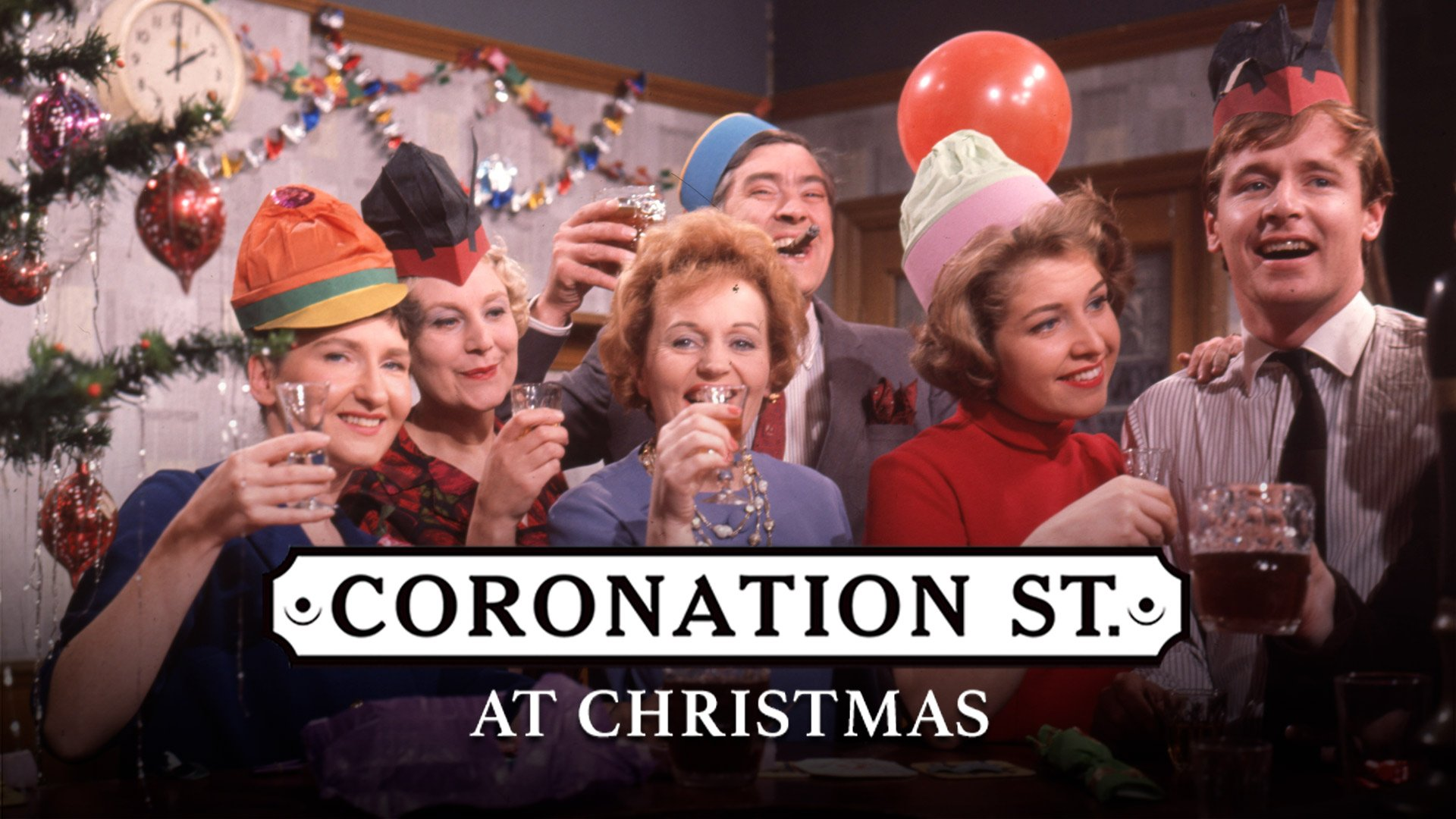 Corrie at Christmas on BritBox UK