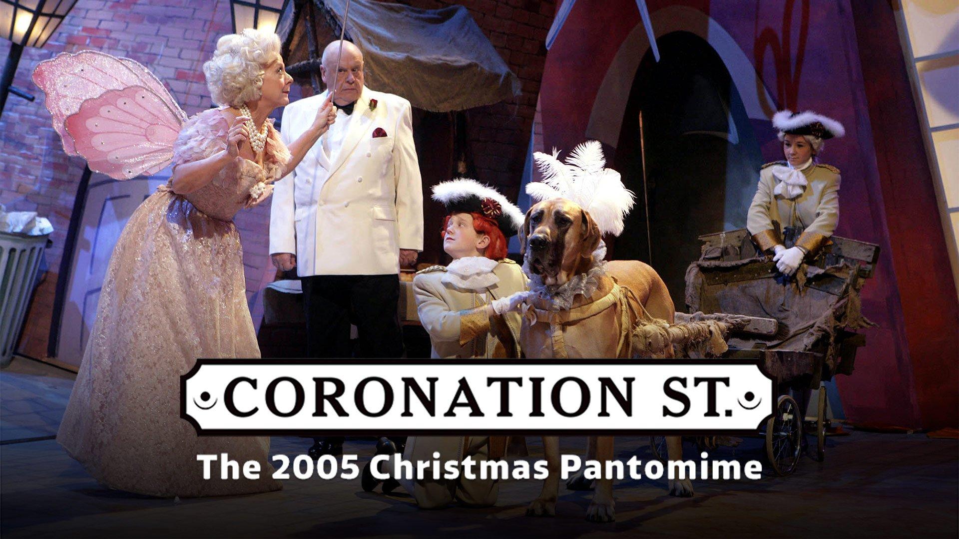 Coronation Street: The 2005 Christmas Pantomime on BritBox UK