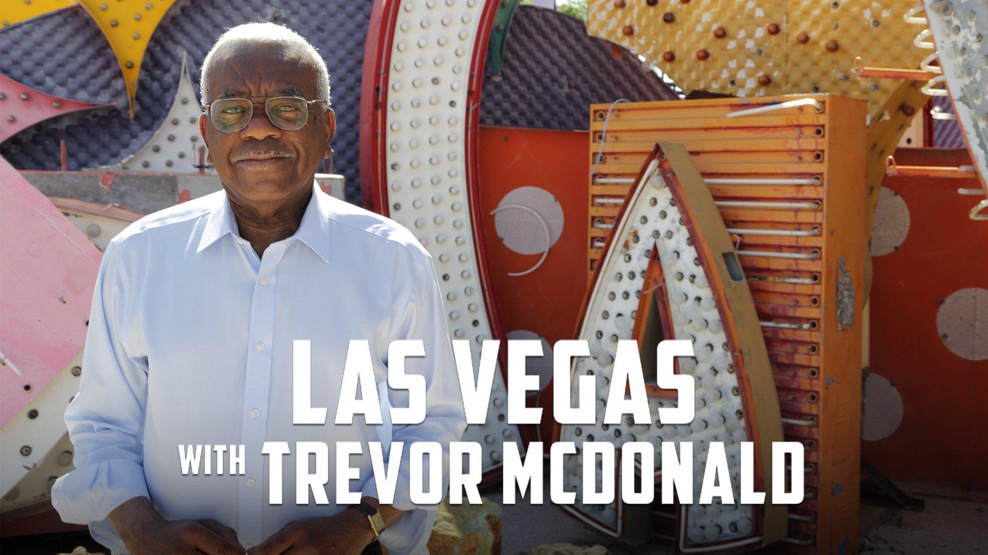 Las Vegas with Trevor Mcdonald on BritBox UK