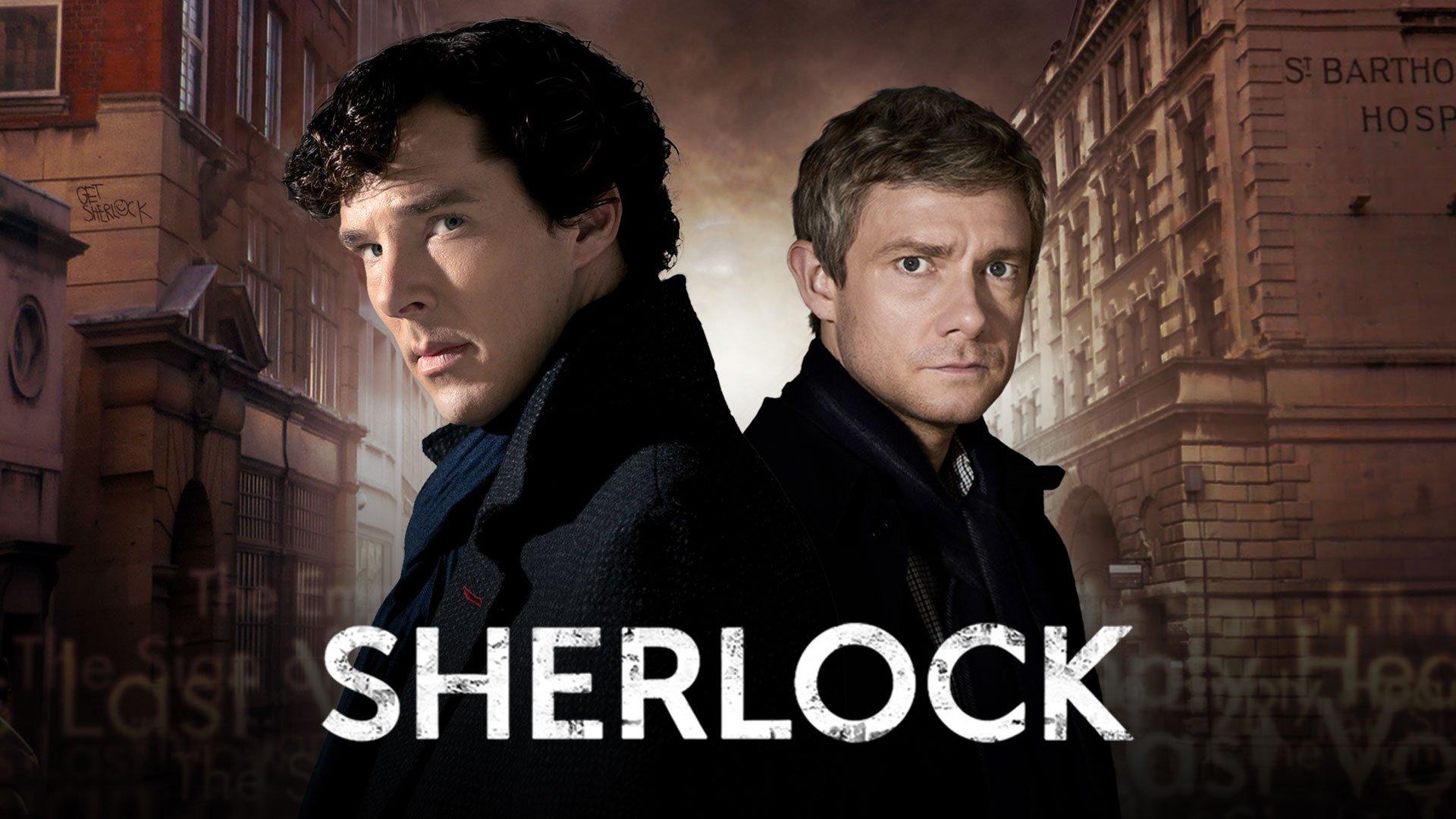 Sherlock on BritBox UK