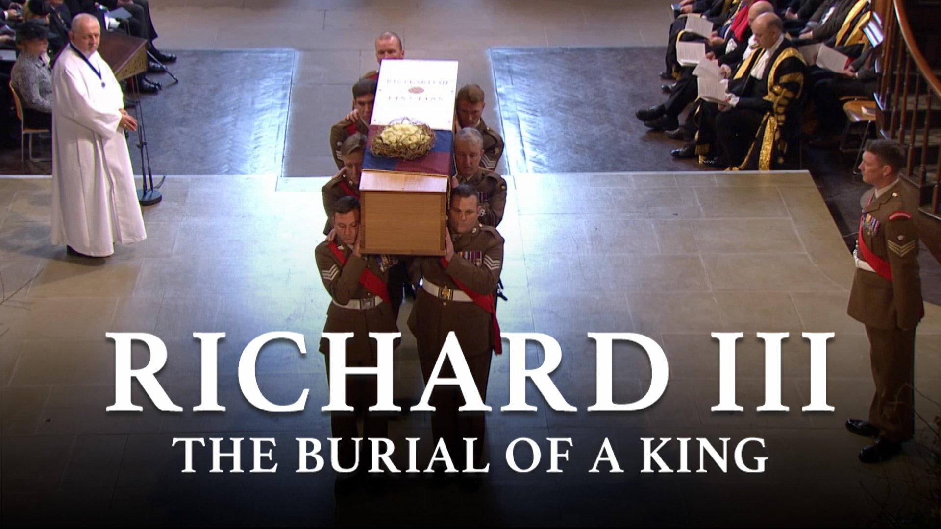Richard III: The Burial of a King on BritBox UK