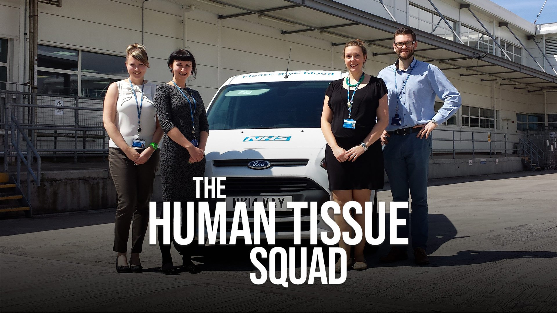 The Human Tissue Squad on BritBox UK