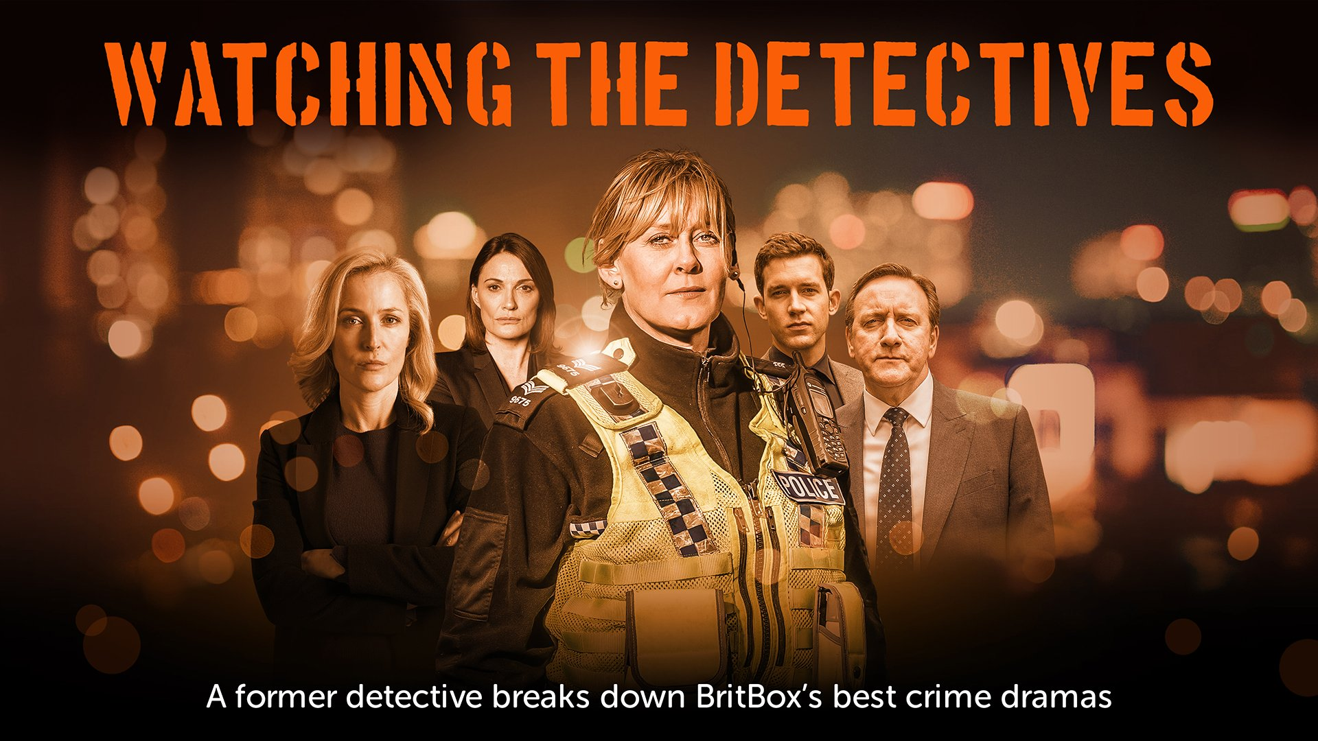 Watching the Detectives on BritBox UK