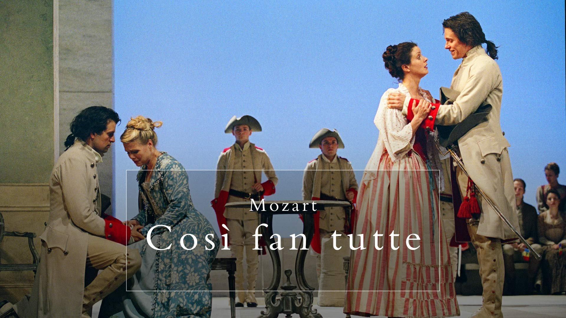 Mozart: Cos� fan tutte on BritBox UK